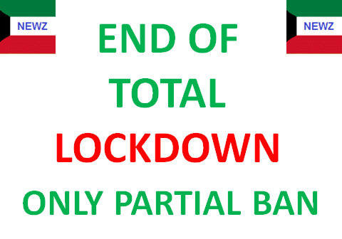 Kuwait Time to Remove Total Lock Down